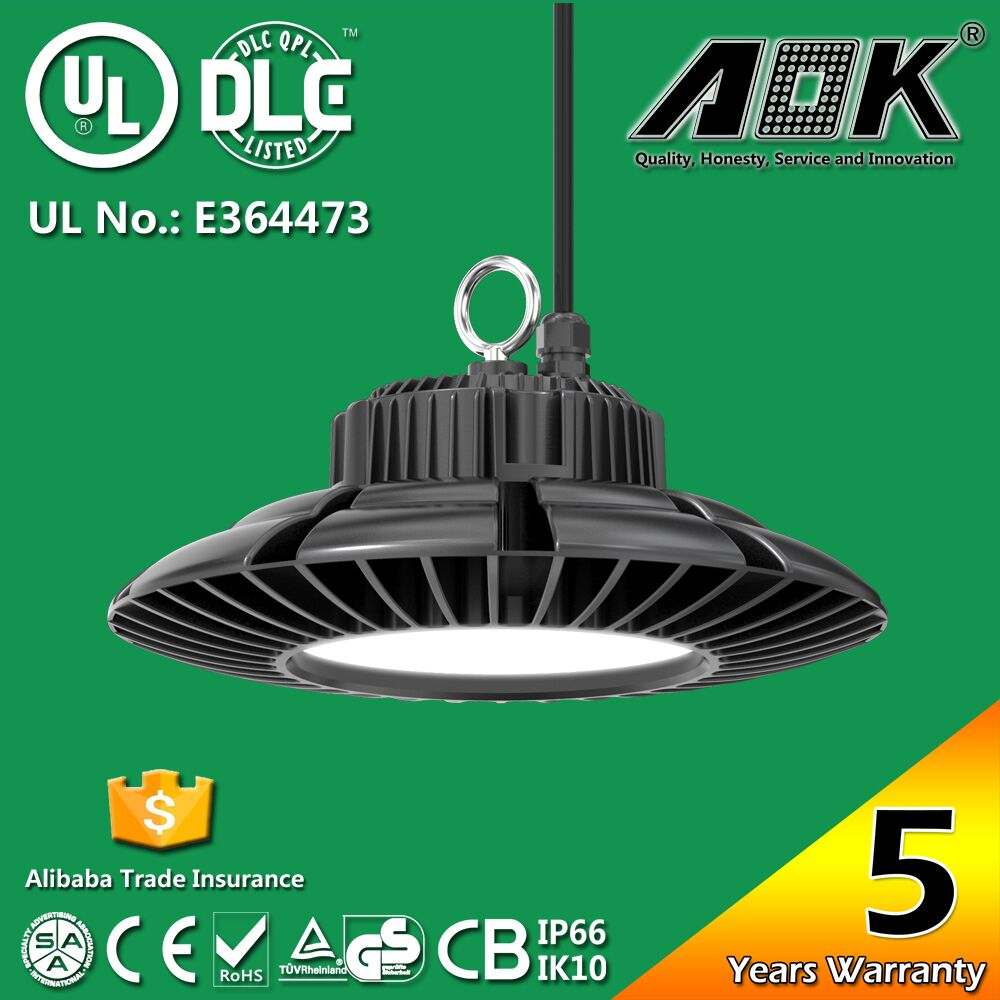 2016 Perfect design 130lm/w 120w UFO LED Highbays with Meanwell Driver