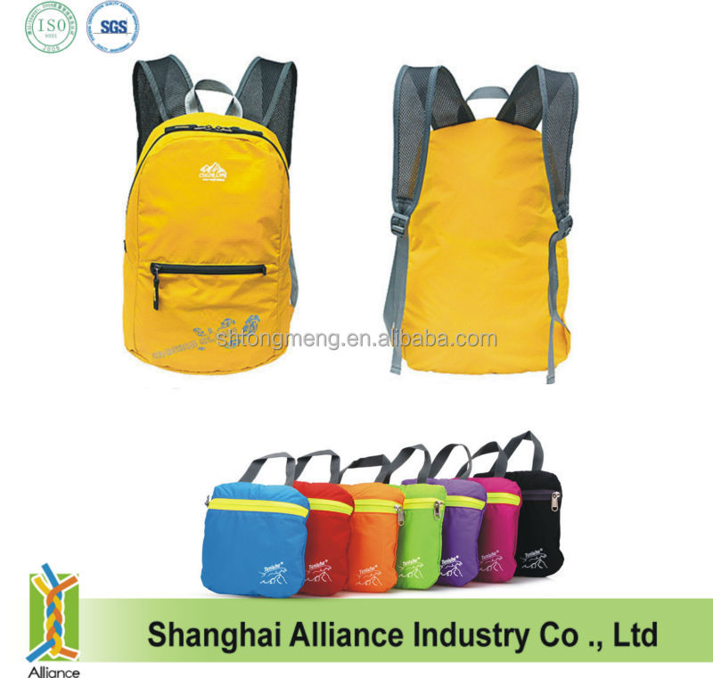 Fishing Sport Travelling Backpack /Ultralight Water Resistent Foldable Knapsack