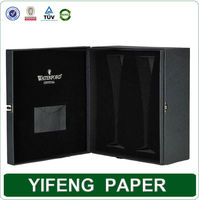 2 Pieces Strong Cardboard Paper Cup Box With custom Logo
