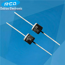 high frequency rectifier 6 amp diode HER608 1000V axial diode