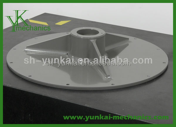 Diameter 600 Precision CNC machining, big cnc lathe parts, welding mechanical parts