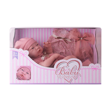 15 Inches Lifelike Reborn Doll Realistic New Born Baby Doll For Kids