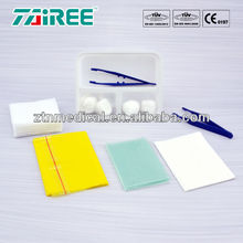 Factory custom Disposable medical product Basic Dressing Set surgical dressing adhesive dressing kit