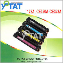Laser toner ce320 ce321 ce322 ce323 for HP cm1415fn wes