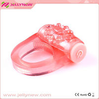 JNC-01006 Amazing sex penis cock ring vibrator & new arrival rubber ring sex