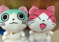 lovely stuffed soft pet toys cat plush toy for crane machine