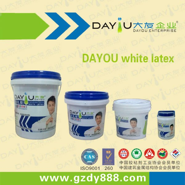 White Latex Glue/Water-based White Emulsion Glue