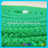 color double braided nylon rope for marine supplies