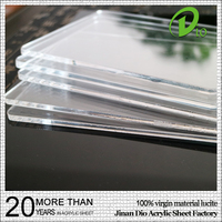Dio pmma block plastic sheets transparent light diffuser acrylic sheet