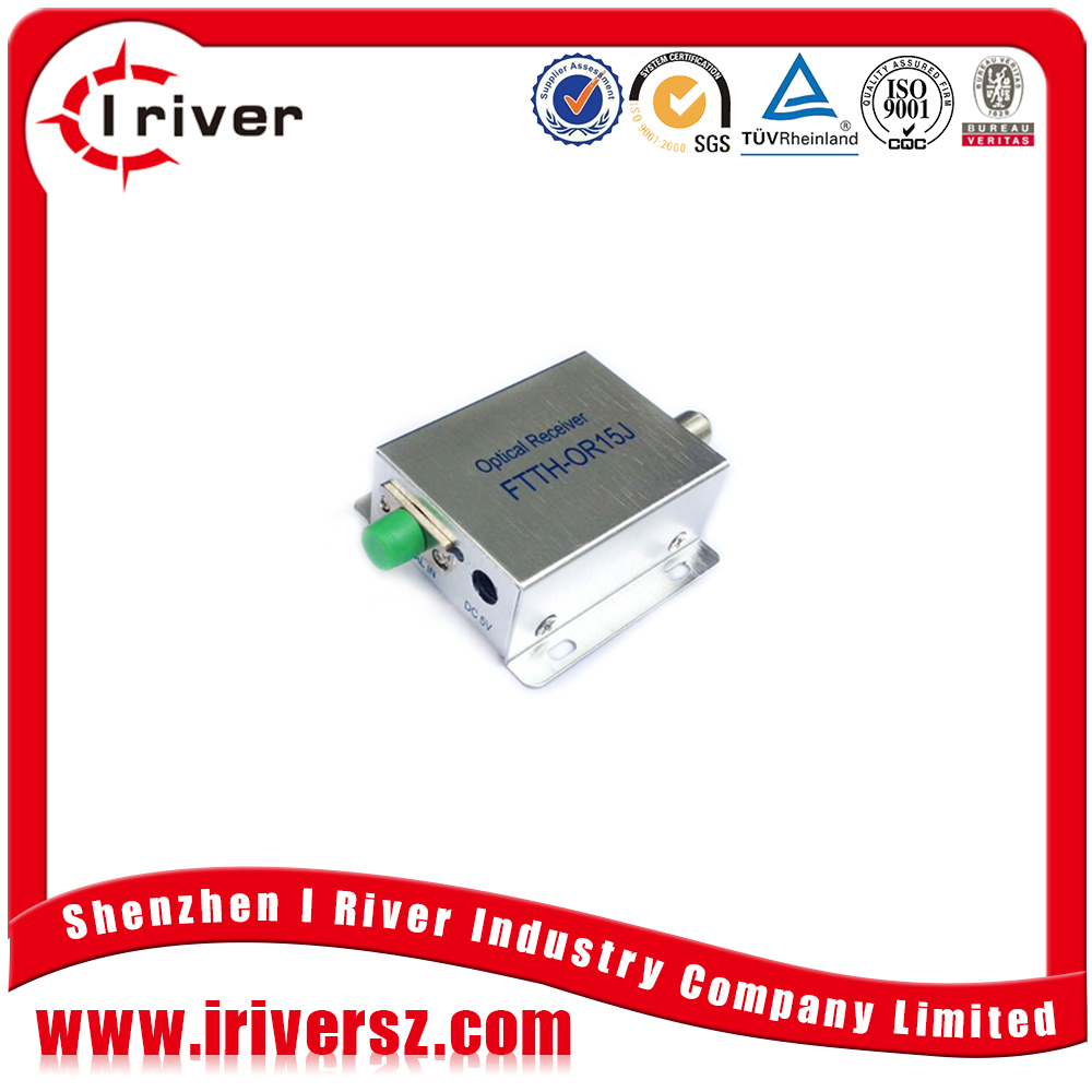 catv optic node price/ftth agc optical receiver
