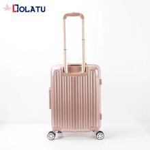 High quality low price unique cabin luggage suitcase with laptop compartment
