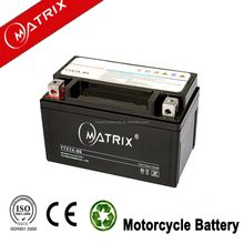 12v 7ah YTX7A-BS competitive price Maintenance Free Motorcycle Battery with high quality