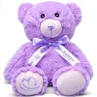 purple lavender bear caloric animals for the microwave