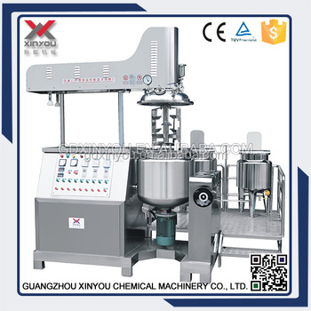 50L vacuum emulsifying machine,cosmetic cream making machine,lotion production line