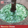 Outdoor decorative garden landscape glass granule