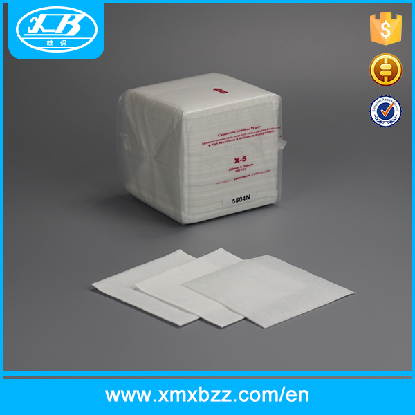 Hot Sell Industry 100% microfiber cleanroom cleaning wipes