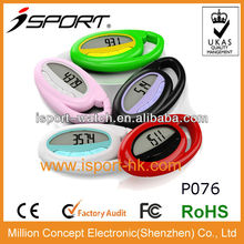 latest popular step disctance counter km gift item for parents