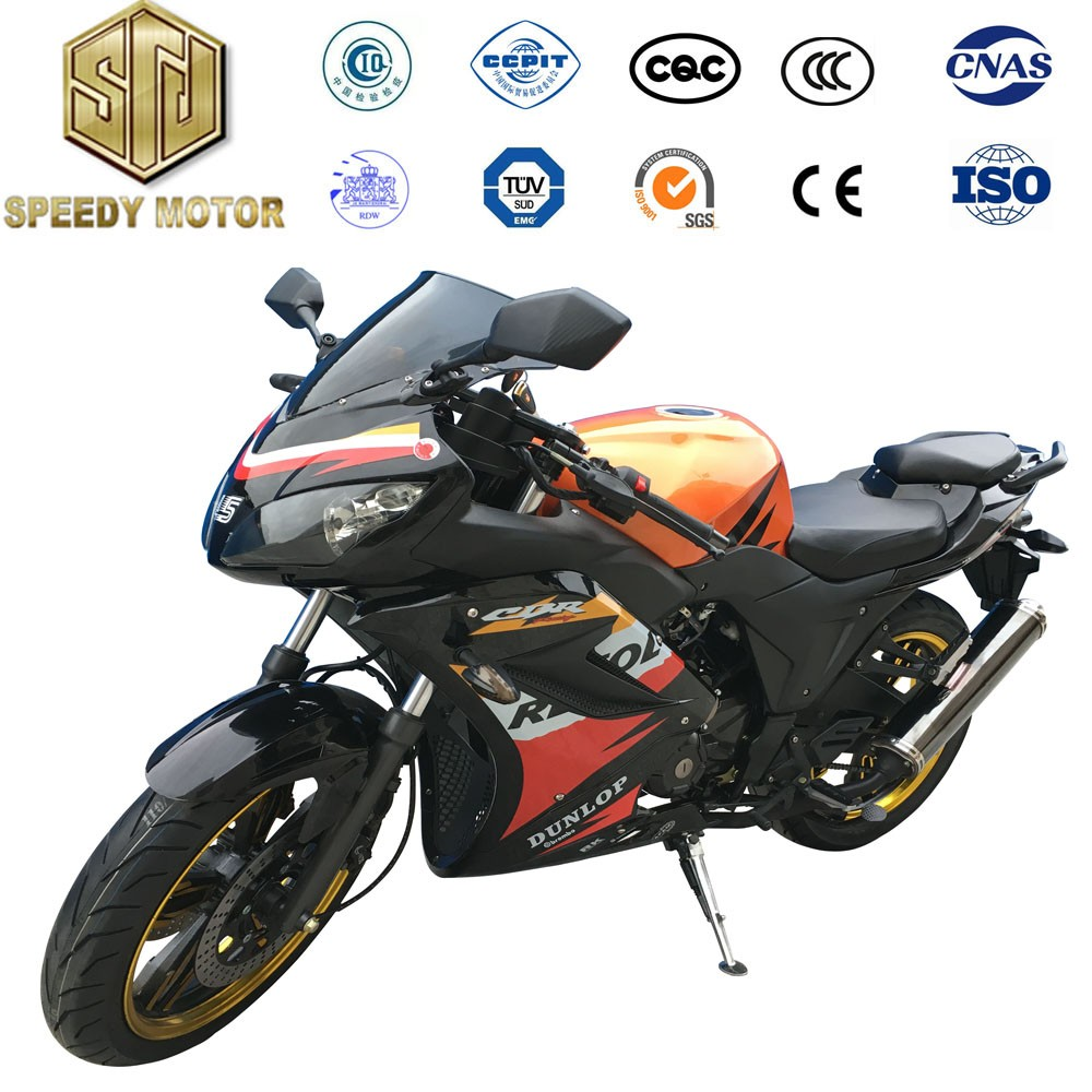 Economic and practical Double cylinder four stroke motorcycles