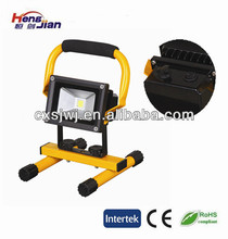 led flood light emergency rechargeable light with ITS certificate family used work light