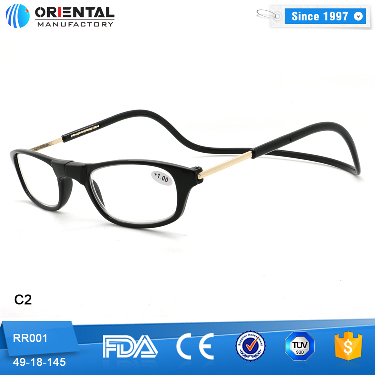 2016 High Quality Plastic Frames Magnetic Reading Glasses ...
