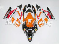 For HONDA CBR600F3 95-96 Orange red black F3 CBR 600 600F3 CBR600 BODY KIT 95 CBR600RR CBR600F Repsol 95 96 1995 1996 Fairing