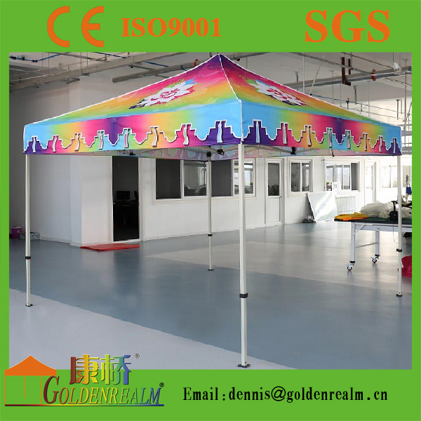Full colour printing display outdoor event flea market promotion 10x10 tent wholesale