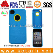 Soft TPU mobile phone case for iphone accessories