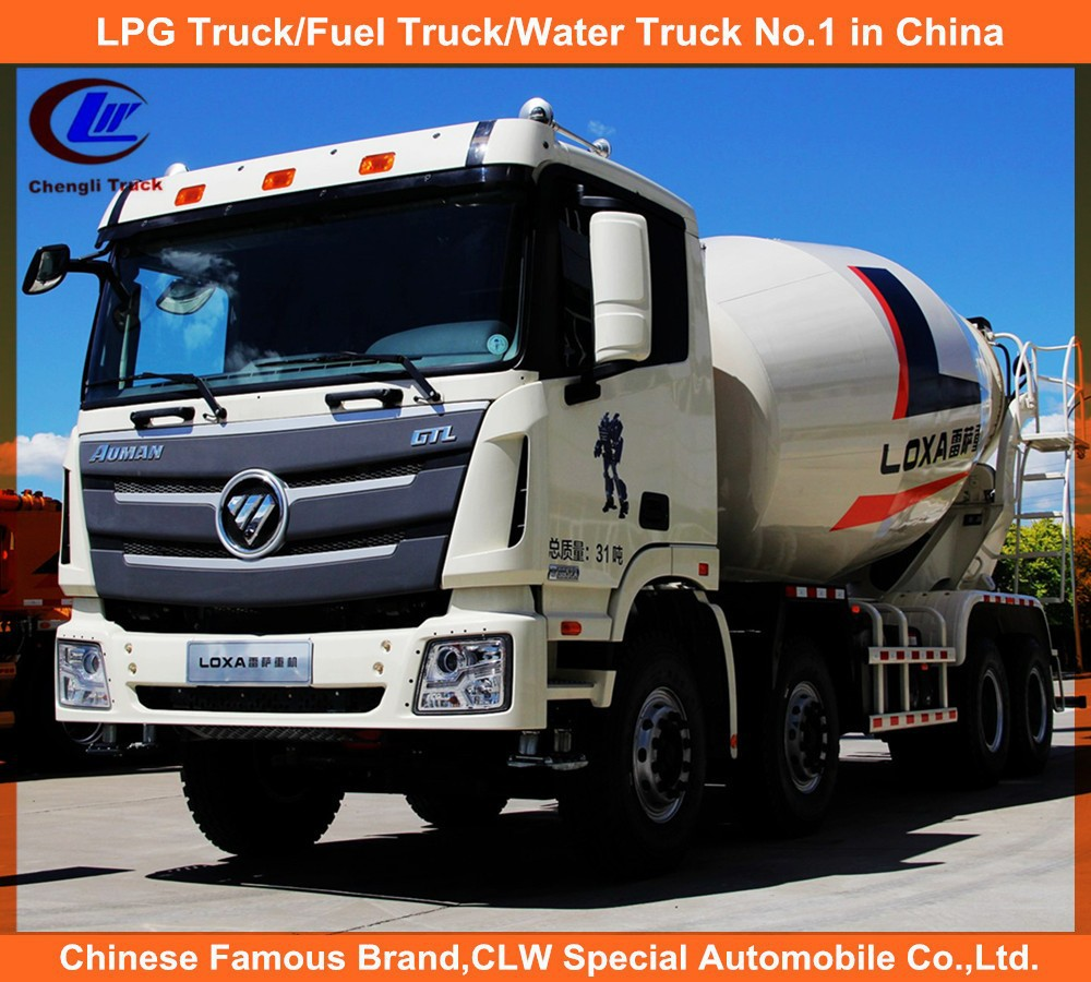 12cbm Foton Concrete Mixer Truck Heavy Duty Foton Used Concrete Mixer Truck 8cbm Foton Used Concrete Mixer Truck for sale