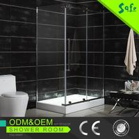 Multifunctional complete shower and toilet cabin for bathroom design