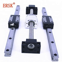 precise linear guide rail 3000mm linear guide rail block linear actuators bearing ball bearing low price linear guide rail