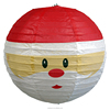 Creative Converting Santa Face Round Christmas Paper Lantern Hanging Decoration