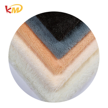 Accept custom order low pile pv plush fabric used for bedding and blanket