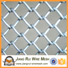 2016 Galvanized chain link fence( diamond wire mesh), PVC Coated Chain mesh Fence