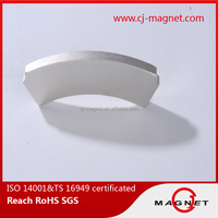 on-time shipment N40 arc neodymium magnet for wind power generator