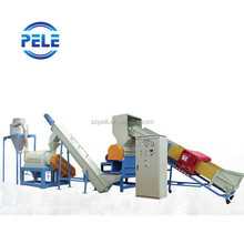 waste PE PP PET plastic washing and drying machine