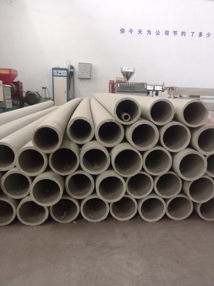 high quality PPH PP PE FRPP corrugated and large plastic drain water pipe
