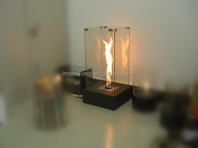 Dancing fire free standing fireplace