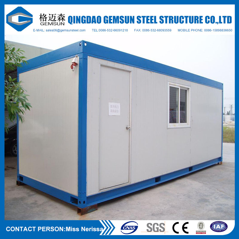 Sandwich Panel Steel Structure Container House for Accommodation