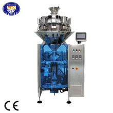 automatic vertical grain bag packing machine with multihead weighe
