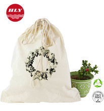China Manufacturer Natural Cotton Drawstring Bag Dust Bags