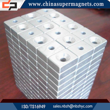 Strong permanent Customized Industrial block neodymium magnet motor generator