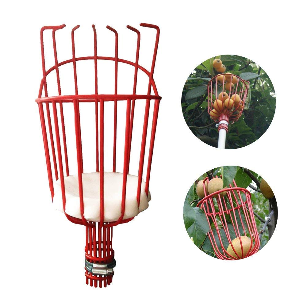 picking Tool with Light Telescoping Pole for Fruit Picker