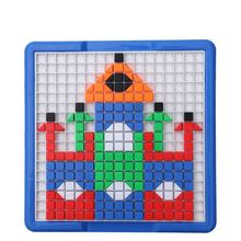 Best prices good quality nurschool children small plastic pegboard puzzle educational toys