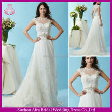 SD1530 cap sleeve lace bridal dress custom beautiful pakistani wedding dresses