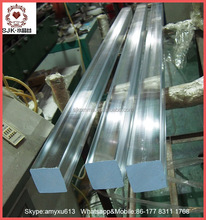Polished Acrylic Rod Clear Plastic Rod Square Clear Acrylic Rod