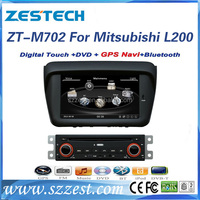 ZESTECH 2 din car dvd for mitsubishi pajero sport l200 double din car dvd stereo gps with TV Bluetooth SWC