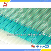 red building materials used commercial greenhouse polycarbonate pc roofing sheet