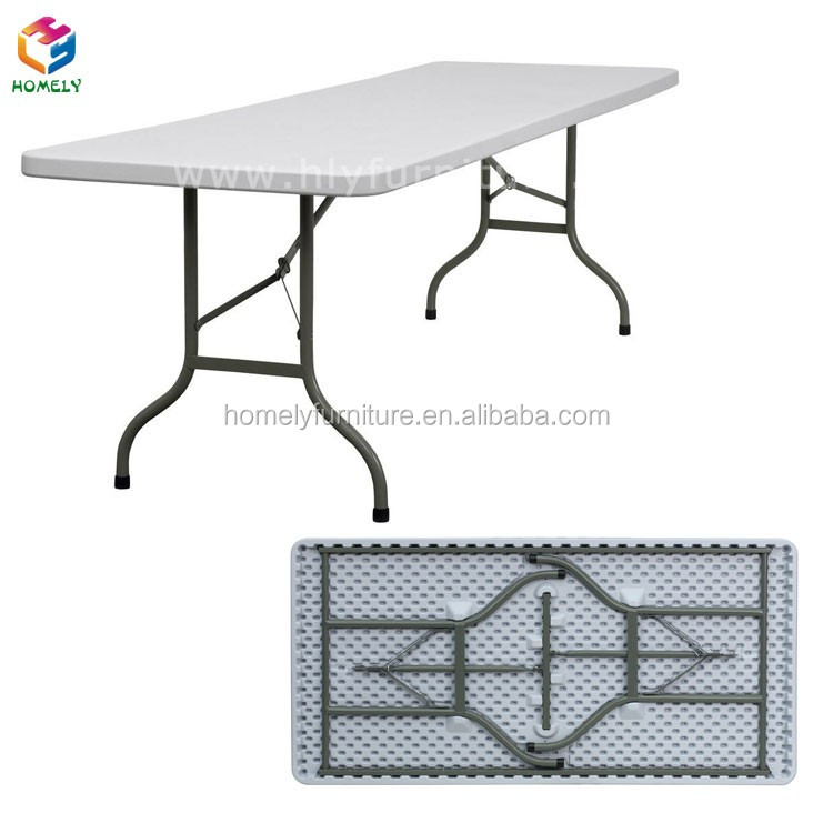 Popular 8FT Fold Table 8FT Rectangle Table
