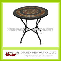 High Quality metal outdoor coffee table