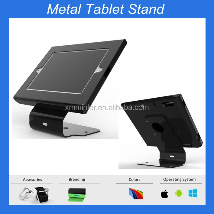 Simple stylish tablet stand with new enclosure for Ipad/Samsung case